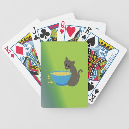 Kitty Cat Bicycle Playing Cards