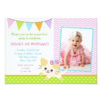 Kitty Cat Birthday Invitations