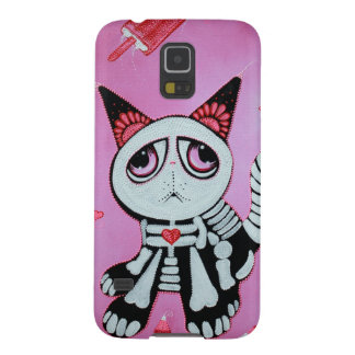 Kitty Cat Candy Pink Galaxy S5 Case