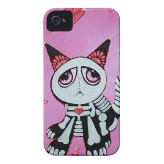 Kitty Cat Candy Pink iPhone 4 Cover