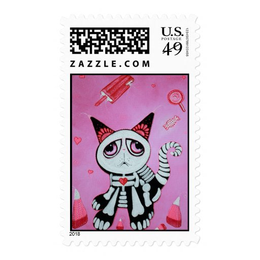 Kitty Cat Candy Postage