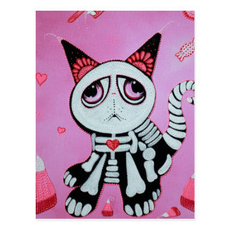 Kitty Cat Candy Postcard