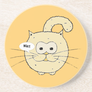 Kitty-cat Beverage Coaster