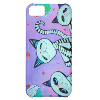 Kitty Cat Cupcakes iPhone 5C Cases