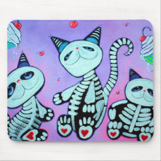 Kitty Cat Cupcakes Mouse Pad