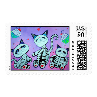 Kitty Cat Cupcakes Postage