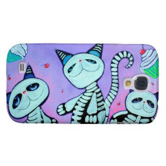 Kitty Cat Cupcakes Samsung Galaxy S4 Case