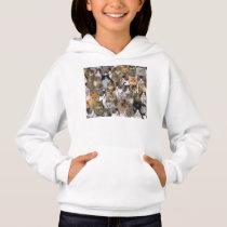 Kitty Cat Faces Pattern Hoodie