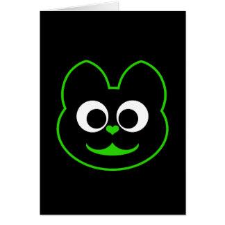 Kitty Cat Green Card