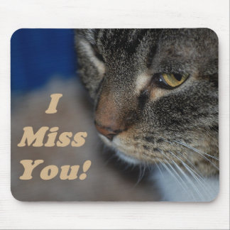 Kitty Cat I Miss You Mousepad