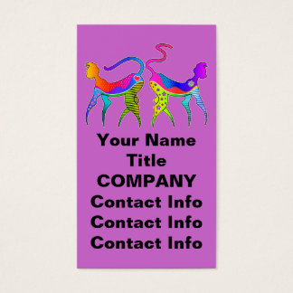 KITTY CAT KATZ BUSINESS CARD - GIFT TAG