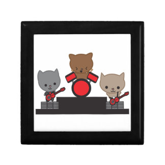 Kitty Cat Kawaii Band Jewelry Boxes