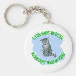 kitty cat key chains