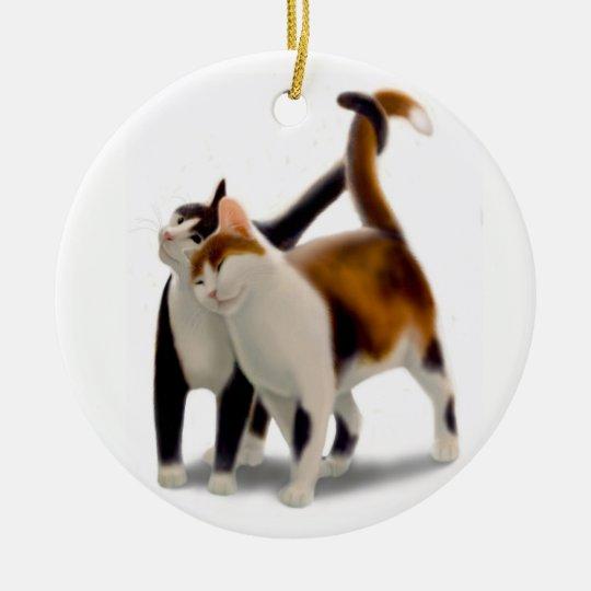 Kitty Cat Love Ornament