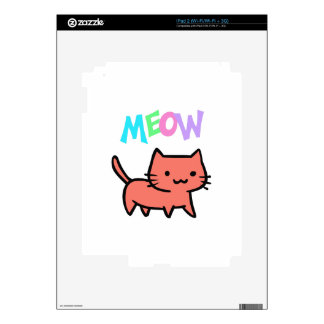 KITTY CAT MEOW SKIN FOR iPad 2