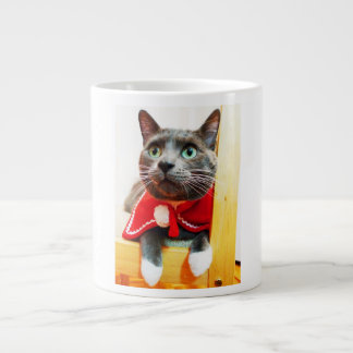 Kitty Cat mug 20 Oz Large Ceramic Coffee Mug