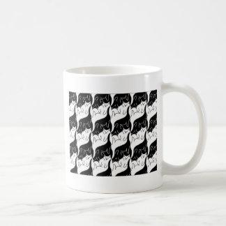 Kitty Cat Pattern Coffee Mug