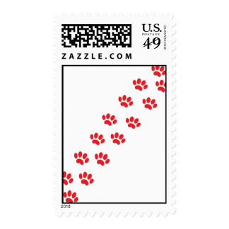 Kitty Cat Paws Postage