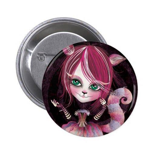 Kitty Cat Pinback Button