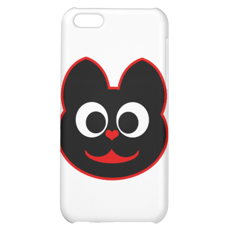 Kitty Cat Red iPhone 5C Covers