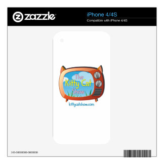 Kitty Cat Show Goodies for One and All! Decal For The iPhone 4