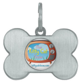 Kitty Cat Show Goodies for One and All! Pet ID Tag