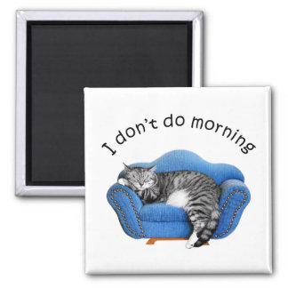 Kitty Cat Sleeping Magnet