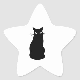 Kitty Cat Star Sticker