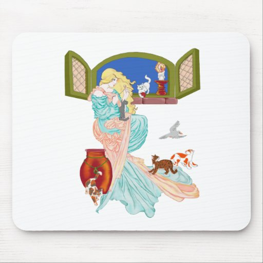 Kitty Cat Tales Mouse Pad