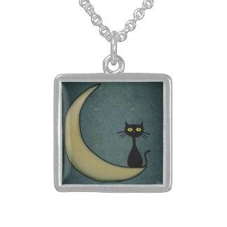 Kitty Cat The Moon Pendant