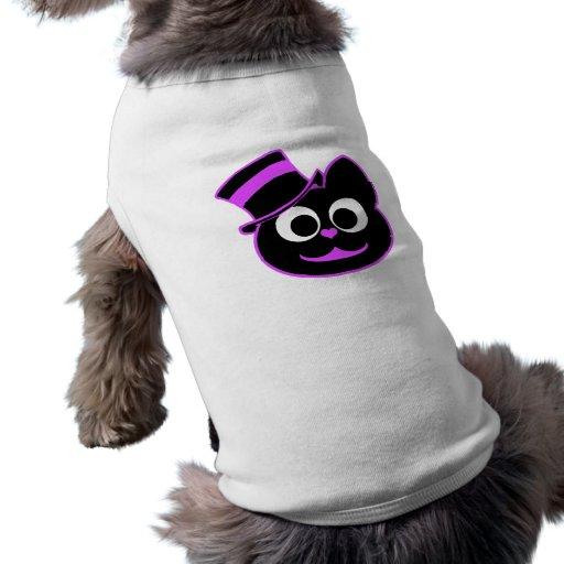 Kitty Cat Top Hat Purple Pet Clothing