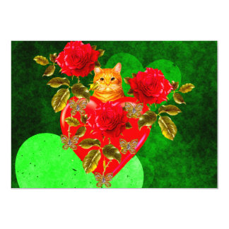 Kitty Cat Valentine Card
