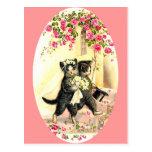 Kitty Cat Wedding Postcards