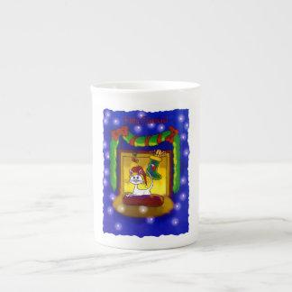 Kitty Catmas Tea Cup