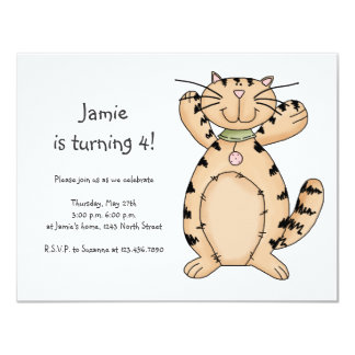 Kitty Cats · Beige Tabby Kitty Card
