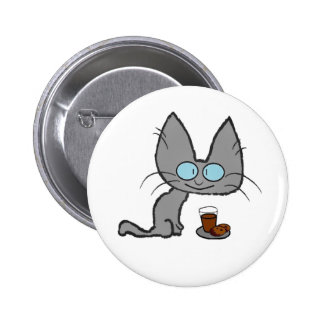 Kitty Cats chocolate chip cookies & chocolate milk Pins