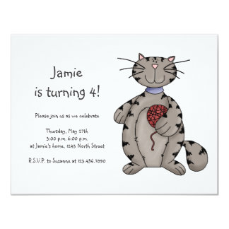 Kitty Cats · Grey Kitty & Wool Card