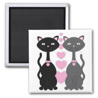 Kitty Cats Magnet