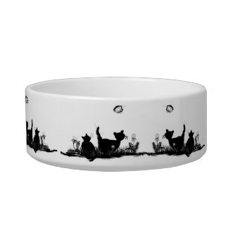 kitty cats - pet bowls