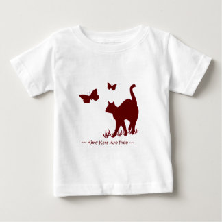 Kitty Cats - Red / Maroon Baby Tops Onsies Shirts