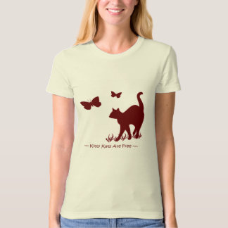 Kitty Cats Red / Maroon Shirt Top