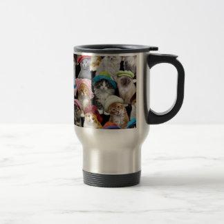 Kitty cats travel mug