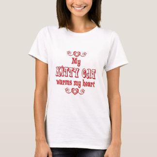 Kitty Cats Warm My Heart T-Shirt