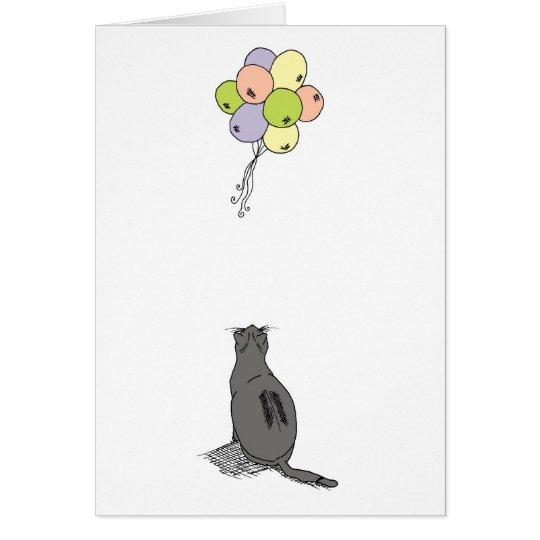 Kitty Celebration Card