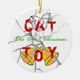 Kitty Christmas Christmas Ornaments