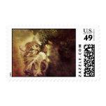 Kitty Christmas Stamp