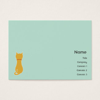 Kitty - Chubby Business Card