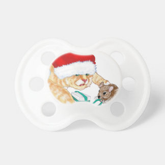 Kitty Claus Pacifier