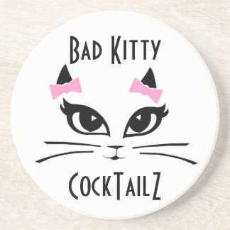Kitty Cocktail Hour Coaster