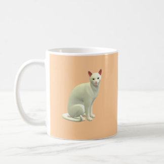 Kitty Coffee Classic White Coffee Mug